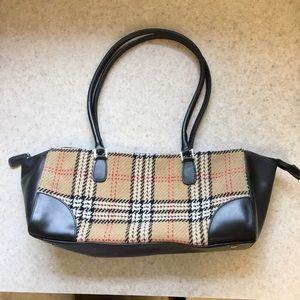 Classic Valerie Stevens Plaid handbag